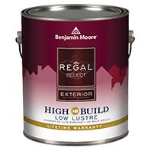 Benjamin Moore & Co - REGAL® Select Exterior Paint- High Build - CAN