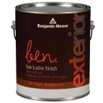 Benjamin Moore & Co - ben® Waterborne Exterior Paint - CAN