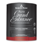 Benjamin Moore & Co - Aura Grand Entrance Satin - Satin (147) - USA