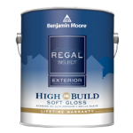 Benjamin Moore & Co - Regal Select Exterior High Build - Soft Gloss (403) - USA
