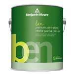 Benjamin Moore & Co - ben Interior Paint - Semi-Gloss (627) - USA