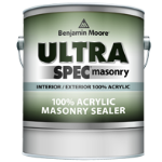 Benjamin Moore & Co - Ultra Spec Masonry Int/Ext 100% Acrylic Sealer - Primer (608) - USA