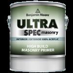 Benjamin Moore & Co - Ultra Spec Masonry Int/Ext Acrylic High Build Masonry Primer - Primer (609) - USA