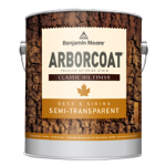 Benjamin Moore & Co - ARBORCOAT Semi Transparent Classic Oil Finish - Flat (328) - USA