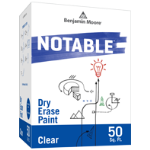 Benjamin Moore & Co - Notable® Dry Erase Paint - High Gloss (500-00) - USA