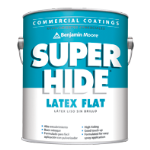 Benjamin Moore & Co - Super Hide Latex - Flat (282) - USA