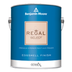 Benjamin Moore & Co - Regal Select Interior Paint - Eggshell (549) - USA
