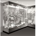 Blumcraft of Pittsburgh - 1301-CM Display Case Doors
