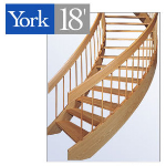 York Spiral Stair - The York 18' Spiral Stair