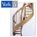 York Spiral Stair - The York 5' Spiral Stair