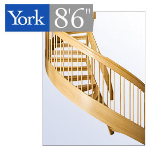 "York Spiral Stair - The York 8'6"" Spiral Stair"