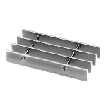 Ohio Gratings, Inc. - Light Duty Stainless Steel Swaged – SGSS Series Grating
