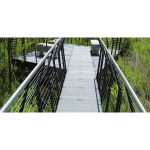 Ohio Gratings Inc. - Carbon Steel - Light Duty Steel Grating - Dove Tail