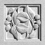 Pineapple Grove Designs - Laurel-094 Medallion