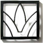 Pineapple Grove Designs - Arch & Dart Grille-040