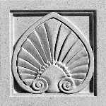 Pineapple Grove Designs - Antefix-044 Medallion
