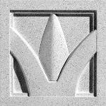 Pineapple Grove Designs - Arch & Dart-040 Medallion