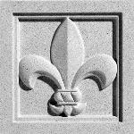 Pineapple Grove Designs - Fleur-de-Lis-049 Medallion