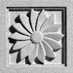Pineapple Grove Designs - Paragon-039 Medallion