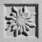 Pineapple Grove Designs - Radial Sun-046 Medallion