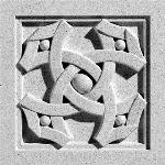 Pineapple Grove Designs - Ribbon & Pearl-061 Medallion