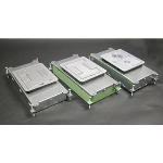 Wiremold - RFB2 Two-Compartment Single- or Multi-Service Recessed Floor Box