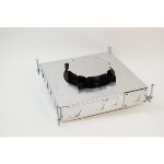 Wiremold - RFB4E Four Compartment Recessed Floor Box