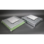 Wiremold - RFB6 Six-Compartment Single- or Multi-Service Recessed Floor Box