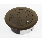 Wiremold - 6FF-AFB Round Furniture Feed Floor Box