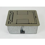 Wiremold - CAF3 Shallow Floor Box