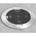 Wiremold - RC9 Quad Power Poke-Thru Device