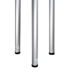 Wiremold - ALTC Series Vertical Drop Aluminum Pole