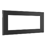 Wiremold - Furniture Power Replacement Bezel for Basic Power Unit- Black