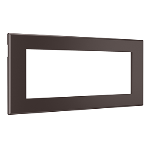Wiremold - Furniture Power Replacement Bezel for Basic Power Unit- Brown