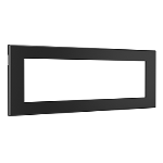 Wiremold - Furniture Power Replacement Bezel for Switching Power Unit- Black
