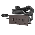 Wiremold - Furniture Power Switching Power Unit- Brown
