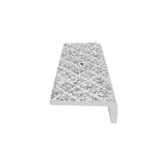 American Safety Tread Co. - Style 816 Abrasive Cast Metal Safety Stair Nosing