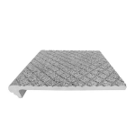 American Safety Tread Co. - Style 804 Abrasive Cast Metal Structural Stair Tread