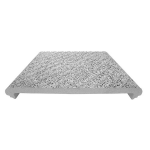 American Safety Tread Co. - Style 806A Abrasive Cast Metal Structural Stair Tread
