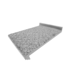 American Safety Tread Co. - Style 807A Abrasive Cast Metal Structural Stair Tread