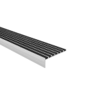 American Safety Tread Co. - Type 4701 Ribbed Abrasive Stair Nosing - Steel Pan Stairs