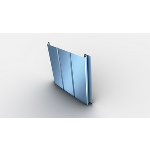 """Englert Inc. - 1"""" B4000 CF Concealed Fastener Metal Wall Panel"""