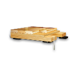 Aacer Flooring - Anchored Power Sleeper™ DIN Fixed Resilient Wood Athletic Floor