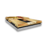 Aacer Flooring - UltraFlex™ DC Fixed Resilient Wood Athletic Floor