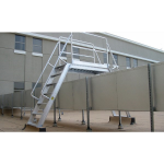 Precision Ladders, LLC - Aluminum Ships Stairs