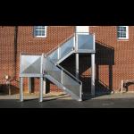 Precision Ladders, LLC - Fixed Aluminum Industrial Stairways