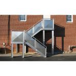 Precision Ladders, LLC - Fixed Aluminum Industrial Stairways