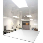 Extrutech Plastics, Inc - Corrosion-Proof PVC Suspended Ceiling Grid System with Plastic Ceiling Panels