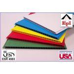 "Extrutech Plastics, Inc. - P1300 12"" inch, Flat, Interlocking Wall and Ceiling Liner Panel"