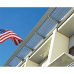 C.R. Laurence Co., Inc. - 10 71 13 CRL 7750 Series Aluminum and Stainless Steel Sunshade Systems